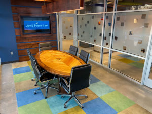 Inside Davide Payne Law's office
